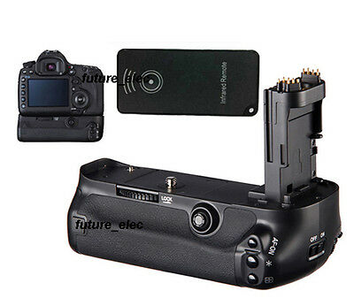 Battery Hand Grip Holder For Canon EOS 5D Mark III 3 5DIII 5D3 as BG-E11+ Remote