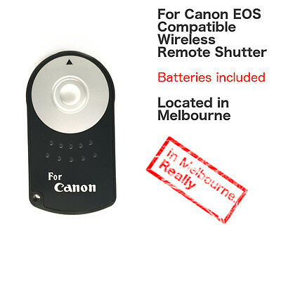 RC-6 IR Infrared Wireless Shutter Remote Control for Canon EOS DSLR Camera