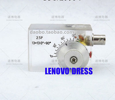 2.5MHZ Variable Angle Tunable Probe Transducer Sensor Ultrasonic Flaw Detector