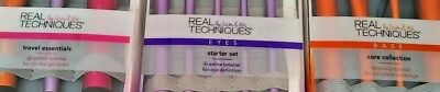 III Brush Set Real Techniques Core Collection Eyes Starter Kit Travel Essentials