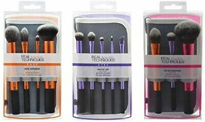 Real Techniques Brush Sets Core C Collection Eyes Starter Kit Travel Essentials