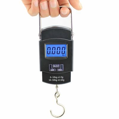 Portable Pocket LCD Digital Travel Hanging Luggage Weight Electronic Hook Scale