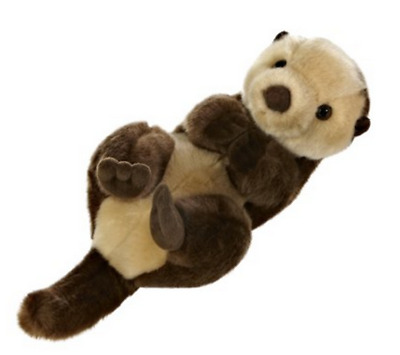 10 Inch Miyoni Sea Otter Plush Stuffed Animal by Aurora