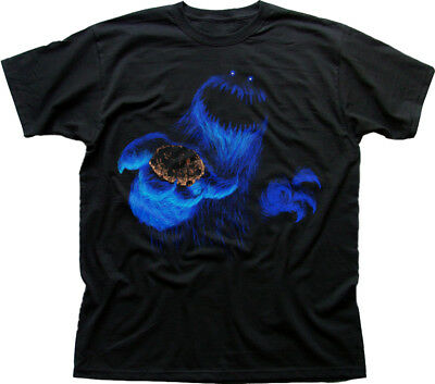 COOKIE Monster Scary black printed t-shirt FN9802