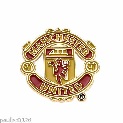 Manchester United FC Lapel Crest Pin Badge Brand New