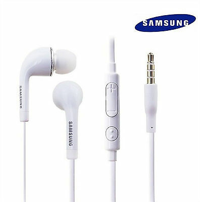 New 3.5mm Stereo Headset Earphones for Samsung Galaxy S7 S6 S5 S4 S3 N5 4