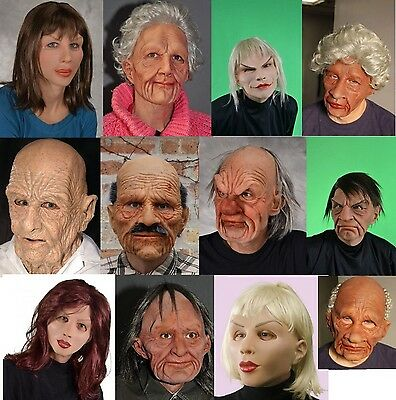 Zagone Supersoft character masks old man & woman faces realistic highest quality