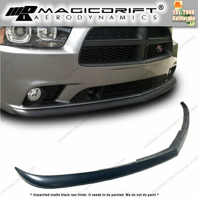Dodge Charger 2011-2014 Sedan 4Dr PU Front Bumper Lip Spoiler Body kit OE Style