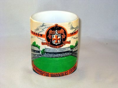 Wolverhampton Wanderers Football Programme Collectionneurs Grand Neuf MUG