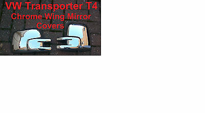 Vw Transporter Chrome Wing Door Mirror Covers