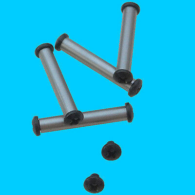 Anti-Walk Pins qty 4 with 10 Philips Head  Screws Stainless SteeL .154 dia