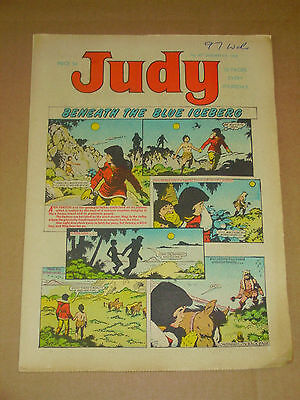JUDY #417-420 Lot of 4 Jan 6th-27th 1968 UK Girls Weekly Comic