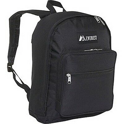 Everest Classic Polyester Backpack Carry  Bag Carry Case w/ Mesh Pocket