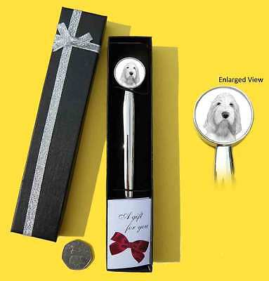 Italian Spinone Dog Chrome Plated Letter Opener Boxed with Gift Tag