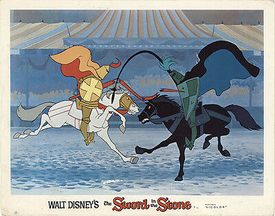 The Sword in the Stone 1963 Original Movie Poster Adventure Animation Comedy