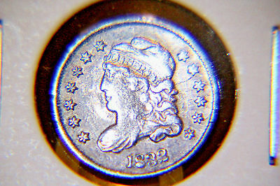 1832 H10C Capped Bust Half Dime - Silver - Lot # 09