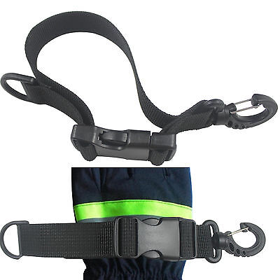 High Quality Work Firefighter Glove Strap Holder holds almost any type of glove