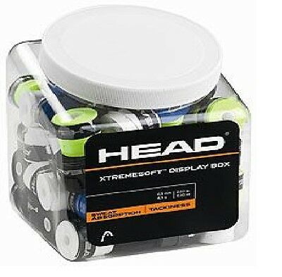 Head XtremeSoft (Extreme Soft) Overgrip Display Box - 70 Grips Included