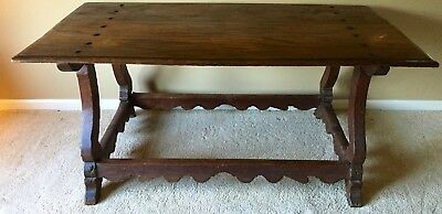 Antique Refectory/Farmhouse/Dining/Writing Trestle Table | European | 1700s