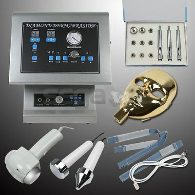 4In1 Diamond Dermabrasion Microdermabrasion Machine Ultrasonic Massage Led Mask