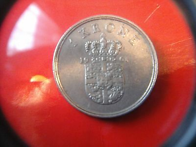 1 Krone 1961  coin , (returns and free  post offered)