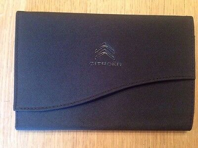 Citroen Car Handbook Case Wallet Genuine