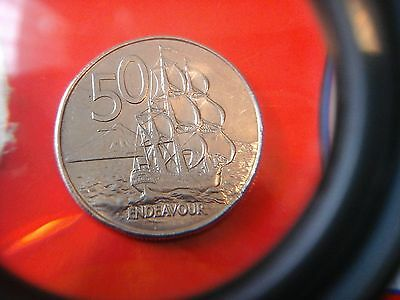 1988 newzealand  50c coin (returns and free  post offered)