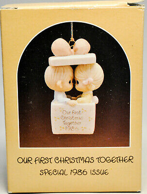 Precious Moments - Our First Christmas Together - 102350 - Ornament