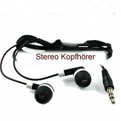 Stereo Kopfhörer  Headset Headphone Ohrhörer in ear 3,5 mm Klinke