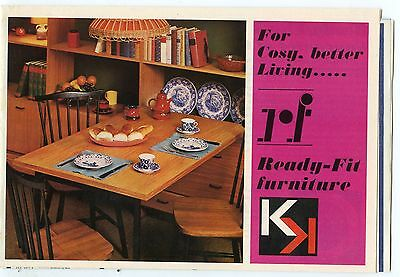 Old booklet RF Ready-Fit Furniture Weston Ontario KK brochure