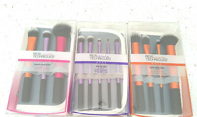 RETAIL BOXED- Real Techniques Core Collection Eyes Starter Kit Travel Essentials