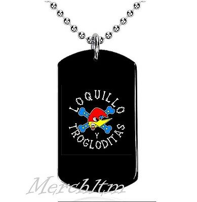 Colgante, Dog Tag, Placa militar - Loquillo