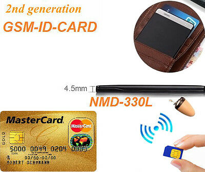 Spy Earpiece New Invsible Gsm Id Card Bluetooth Small Wireless Micro covert Bug