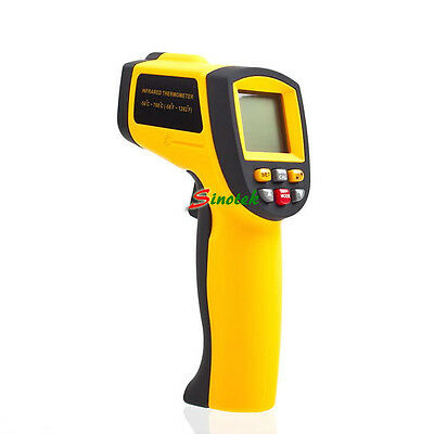 NEW Handheld Digital Infrared IR Gun Thermometer 12:1 Pyrometer -50 ~ 700°C/ °F