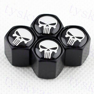 Accessories Tire Tyre Valve Stem Caps Styling Dust For Pirate Beard Skull Head
