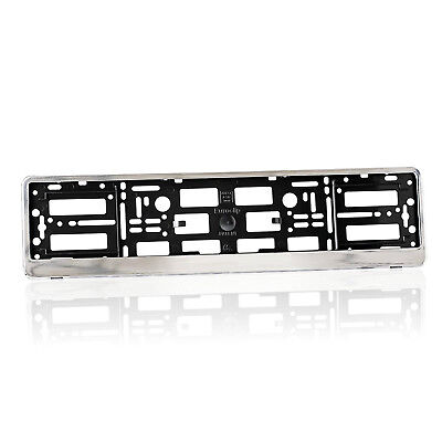 License Number Plate Holder Surround for BMW - Splashy Chrome Edition B1