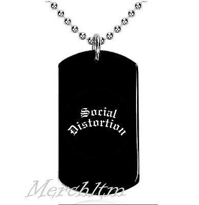 Colgante, Dog Tag, Placa militar - Social Distortion, A