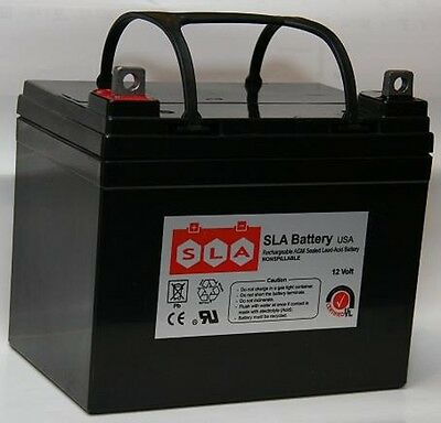 Replacement for 12V 35AH Jazzy Select GT Power Chair Scooter Battery
