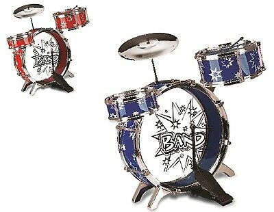 Children's Large Drum Set Kit Musical Fun Ideal Christmas Gifts For Little Ones