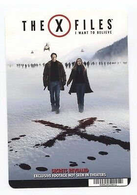 Movie Backer Card (The X Files) Mini Poster ***NOT THE MOVIE***