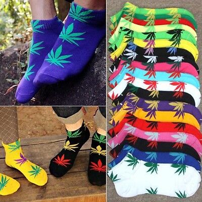 Weed Leaf Unisex Short Ankle Socks Not Huf Plantlife Skateboard Marijuana New
