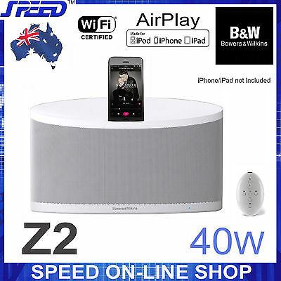 Bowers & Wilkins B&W Z2 Wireless AirPlay Speaker for iPhone/iPod/iPad with Dock