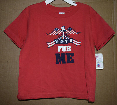 Vote For Me Infant/Toddler Shirt Little Teez New with Tags