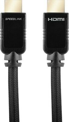 SPEEDLINK SHIELD-3 High Speed HDMI Cable with Ethernet für PS3, 2m Full HD