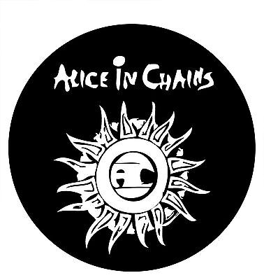 Parche imprimido, Iron on patch, Back patch, Espaldera - Alice in Chains, C