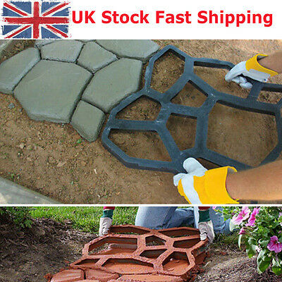 Driveway Paving Mold Tools Patio Concrete Pathmate Garden Walk Maker Mould UK