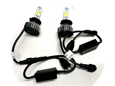 Kit H7 Lampade A Led Cree Full Led 2600 Lumen 6000K Digitale 12V 24V Camio Auto