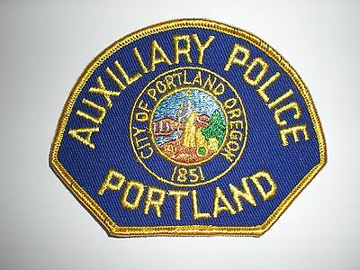 """Portland, Oregon Police Department """"auxiliary Police""""  Patch"""