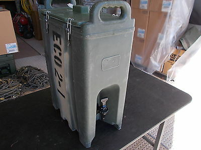 Military Surplus Field Kitchen Cambro Beverage Coffee  Container Insulated Army