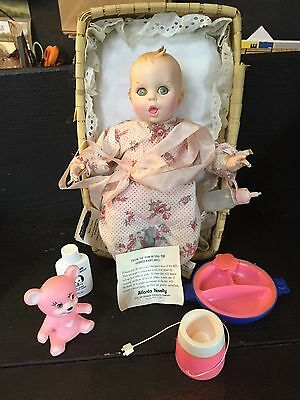 Old Gerber Baby Doll Woth Some Accessories